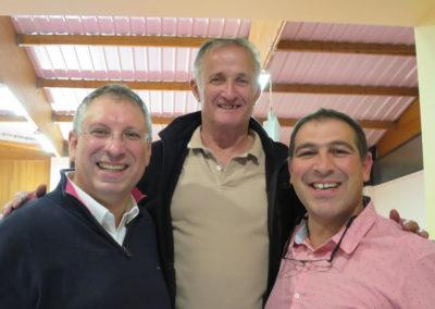 Deux anciens du club autour de Christian Nay